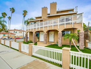 OB Loungin 2 - Dog-friendly townhome with a balcony and nearby beach access!