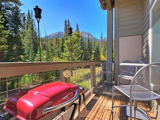 Lovely & affordable ski condo that backs up to National Forest. A5