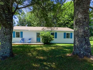 Dog-friendly home w/ yard, wood stove, & great location close to the ocean