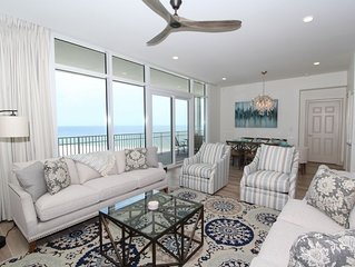 Vista Del Mar 304-Luxury Unit w/Beach Views, Large Terrace & Amazing Interior