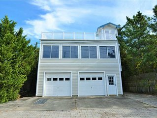 7 Massachusetts - Large bay block home just steps to the Beach!