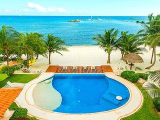 Riviera Maya Hacienda - Villa Nautica 4BEDS, BEACHFRONT - 12 GUESTS - FULLY A/C