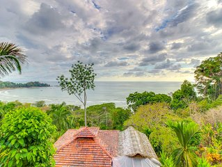 Exceptional dog-friendly treetop condo w/ ocean views & breezy balcony!