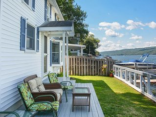 Edgewater Escape - Beautifully Remodeled Cottage on Keuka's East Side!