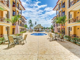 Two lovely oceanfront condos with shared pool, easy beach access, & more!