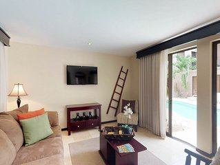 NEW LISTING! Two condos w/shared pool, tennis, fitness center-close to the beach