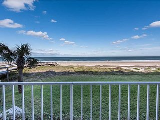 Ponte Vedra Ocean Manor 106-D, 3 Bedrooms, Beachfront, Sleeps 6