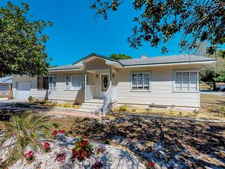 Peaceful, dog-friendly home in quiet neighborhood with great location!