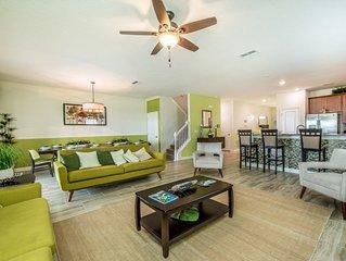 Enjoy Orlando With Us - Champions Gate Resort - Amazing Spacious 9 Beds 5 Baths
