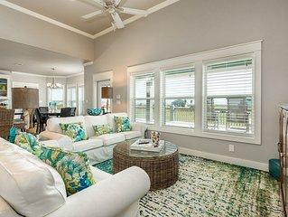 Classic beach house w/ huge deck, ocean view, & easy beach access