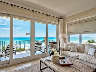 Adagio C205 corner condo  west side! Pools, beach, gym, hot tub, FIVE star!!!