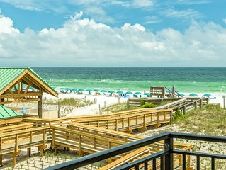 Bk4Christmas ☀2 Balconies☀2 Step Sanitizing Process☀3BR+Bunks Emerald Isle 302