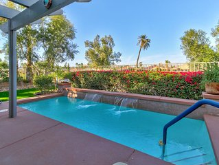 Golf lover's gem w/private pool, shared tennis, on-site golf, and shared spa