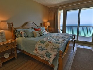 ENJOY FREE BEACH CHAIRS AND KING BEDS WITH THIS LUXURY TREASURE ISLAND CONDO!