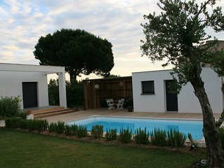 Villa des Alberes  a Sorede  7 km des plages