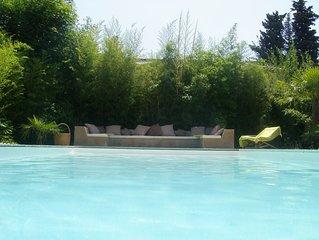 Belle propriété au calme avec jacuzzi et piscine sans vis à vis