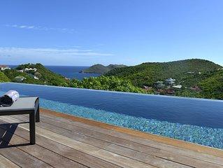 Villa Alpaka, vue mer, direct propriétaire, tarif 3 ou 4 chambres occupées
