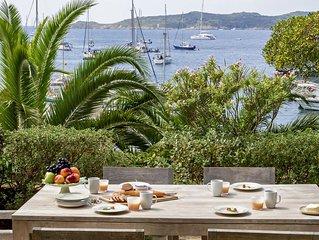 Grande maison au calme en bord de mer  situee l'ile de Port-Cros