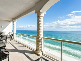 Gulf Front Sky Home with Beach Front View and Access - Free Beach Chairs!