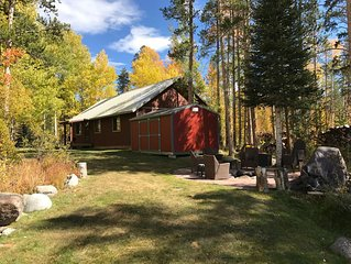 Moose Manor-Beautiful, Relaxing, Private, Clean!Family & Pet Friendly-Low Rates