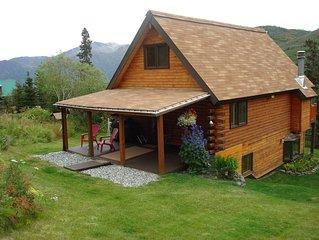 Log Cabin Chalet/Spectacular Mtn Scenery 3BR/2B  $225 Summer/$185 Winterter