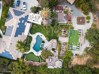 A premiere rental home offering amenities & outdoor lounge areas like no other.