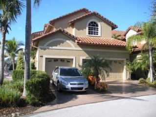 Villa Style Condo in Waterside Upscale Gated Community