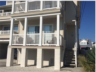 Just steps from the Beach and Boardwalk! Perfect vacation getaway!