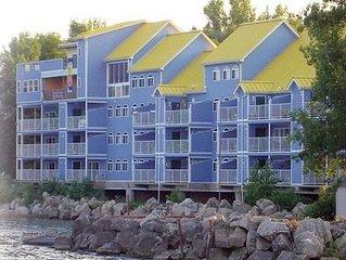 Lakefront Condo with Wrap Around Balcony