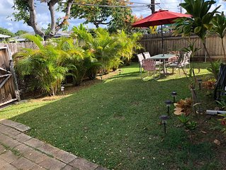 3 Bedroom Kailua Fire Captain's Home, Simple & Clean with Max Speed WiFi