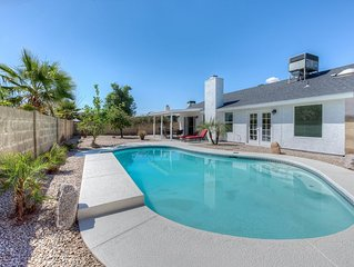 Gorgeous Private Family home with heated pool