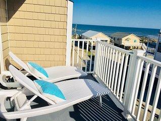 LUXURY 2BR, 2BA top floor condo with AMAZING OCEAN views and pool!