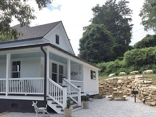 The Bryson City Farmhouse - Railroad History in Downtown!