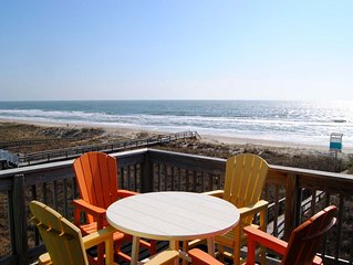 Newly Renovated and Tastefully Decorated 2 BR/2 BA Oceanfront Condo, sleeps 8.