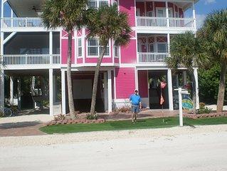 Coconut Breeze, 4 bedrrom, pool ,2 private beach access, elevator, free docking