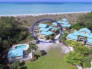 Stunning Beachfront Island Getaway..Pool and Ferry Service included!