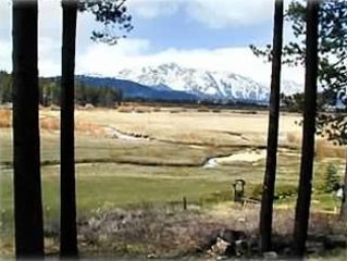 Spectacular Mountain View - Meadow Front Home with Hot Tub, vacation rental in South Lake Tahoe