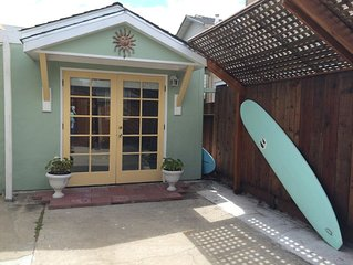 Santa Cruz Yacht Harbor BEACH Cottage located 2 blocks from TWIN LAKES BEACH