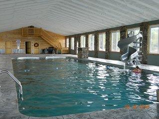 Chattanooga 21 Miles! Indoor Pool, Hottub, Fireplace, Firepit! Chatt TN 21 miles