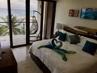 Brand New, Ocean Front Luxury Penthouse ~ Carribean Gem of Half Moon Bay