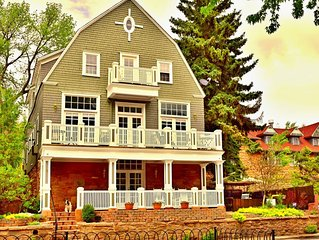 The Heart of Manitou Springs. Award-winning. Luxurious. Romantic. 2nd Floor West