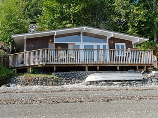 Hood Canal, Octopus Hole Beach Cabin. 315' Cove with Oysters!