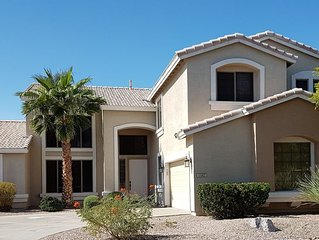 6BR/4BA, Sleeps 18, Luxury Pecos Vistas home, heated pool/hot tub.