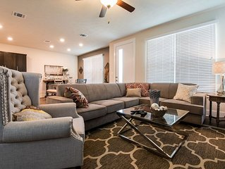 Brand New Townhome with A Contemporary Flair!  Short & Straight Route to A&M!