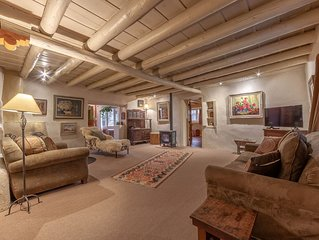Historic Home of Taos Artist -Charming Ambiance and Very Best Location!