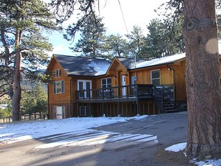 Mountain Sunrise Cabin - HOT TUB, Wildlife, Serene - Near RMNP and Downtown