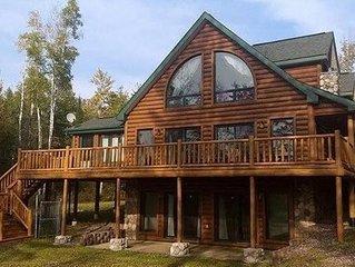 Upscale Lake Home on Beautiful 915 Acre Solberg Lake, Phillips WI