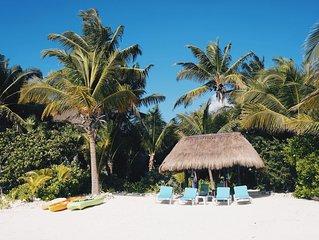 Beach Front Casa - Soliman Bay - 10 Min. North of Tulum