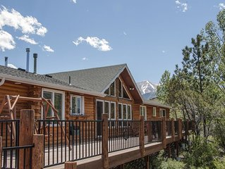 Brock Haus Log Home on Cottonwood Creek - Truly Magnificent !!