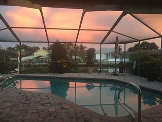 New Waterfront Home Listing with Pool, Dock-Fishing, Kayaks, Paddleboards
